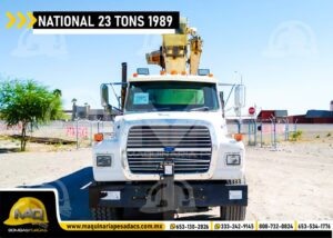 FRENTE GRUA TITAN FORD - NATIONAL 23 TONS 1989