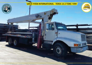 GRUA TITAN INTERNATIONAL - TEREX 23.5 TONS 1999 PORTADA